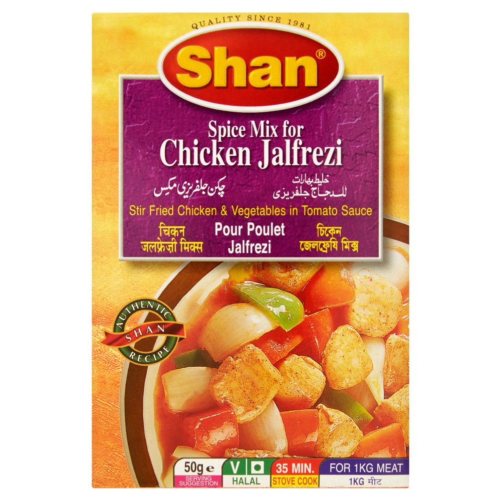 Shan Spice Mix for Chicken Jalfrezi
