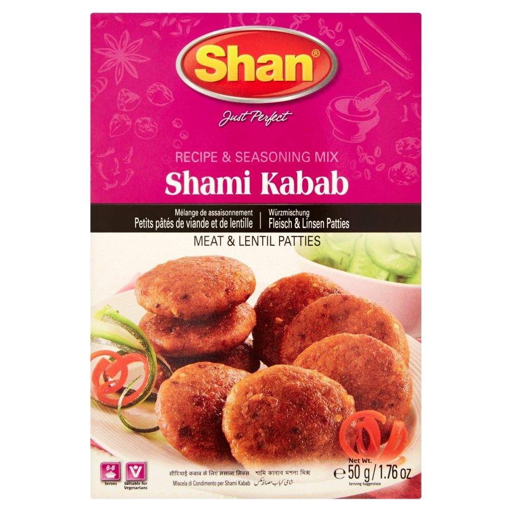Shan Shami Kabab Recipe & Seasoning Mix