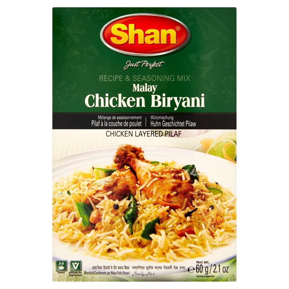 Shan Malay Chicken Biryani Recipe & Seasoning Mix